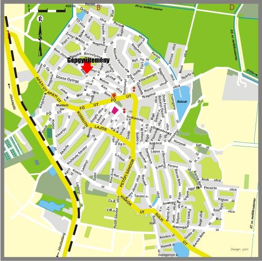 kisújszállás térkép Jászkisér Város Honlapja kisújszállás térkép